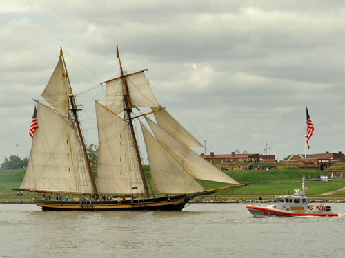 Pride of Baltimore II topsail schooner