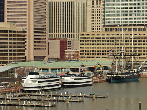 baltimore inner harbor ships